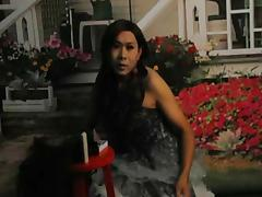Horny asian tranny compilation