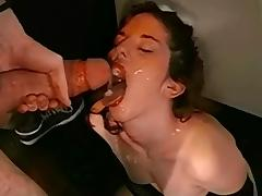 Bukkake, Bukkake, Cum in Mouth, European, Facial, Cum Swallowing