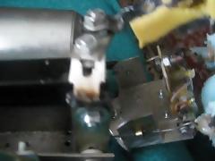 Auf Wunsch Mechanik der Wichsmaschine