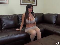 Big breasted milf slut Lisa Ann fucked in sexy stockings