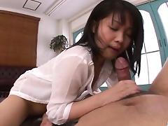 Perfect POV porn show with brunette Hikaru Momose