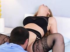 Bdsm pornstar domina sits