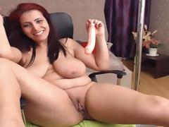 Juicy mature romanian milf katlust masturbating