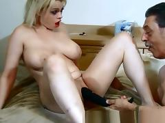Fabulous Homemade movie with Couple, Toys scenes