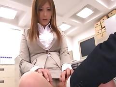 Dressed in a variety of hot costumes Haruki Sato gets fucked