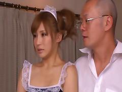 Maid, Asian, Fucking, Hardcore, Japanese, Kitchen