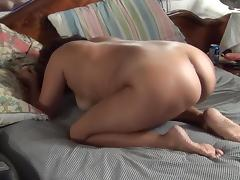 Asian maja doggy daddy cum