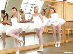 Ballerina, Dance, Fucking, Lesbian, Nylon, Pantyhose