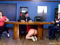 All, Babe, Big Ass, Blonde, Office, Stockings