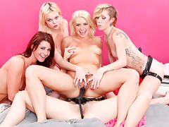 Maia Davis & Jodi Taylor & Anikka Albrite & Alice Frost in The Seduction Of Anikka Albrite, Scene #02