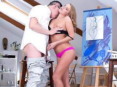 TrickyOldTeacher - Tricky old teach Vlada gets fucked hard by a student's dad