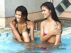 Hot Lesbian Thailand Girls in Action