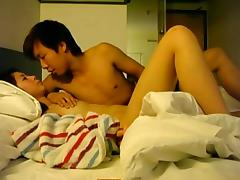 Korean couple make homevideo