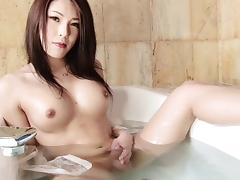 Yuria Misaki is proud of her stiff boner and wants you to see it!