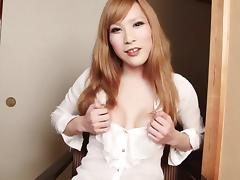 Tranny tits and ass looks great as the babe teases