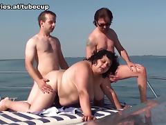 Yacht, BBW, Boat, Chubby, Chunky, Fat