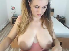 Big Areolas on webcam