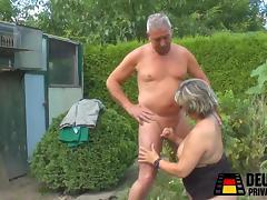 Fick im Garten