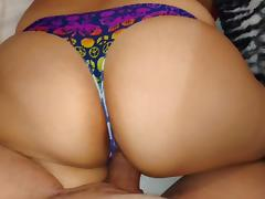 PEACE THONG!! BIG ASS!!