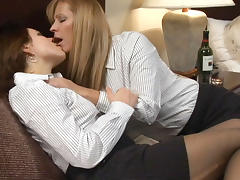 Lesbian Seduction, Big Tits, Fingering, Girlfriend, Lesbian, Seduction
