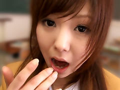 Miku Airi in Classroom BJ - TeensOfTokyo