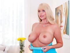 Karen Fisher in Curvy Cougar Swallows Some Pride - BigGulpGirls