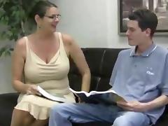 Teacher, Masturbation, Mature, MILF, Teacher, Big Natural Tits
