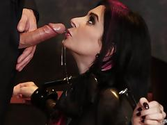slutty joanna gets awfully dominated