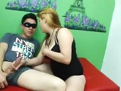 BBW, Amateur, BBW, Blonde, Couple, Webcam