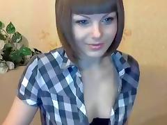 Russian babe CandyKaty masturbating