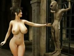 Monster, 3D, Alien, Fetish, HD, Monster