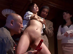 Yu Kawakami in Yu Gets Doubled By Two Studs - MilfsInJapan