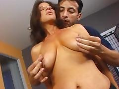 Melissa Monet seducing the plumber