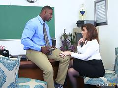 Boss, Blowjob, Boss, Couple, Hardcore, Interracial