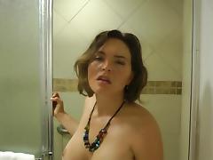 Intimate shower sex