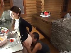Heki Takashima can suck and ride like a true professional