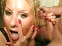 wife susie in house party action