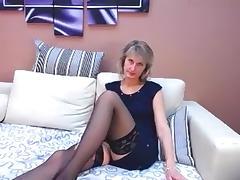 All, Blonde, Solo, Stockings, Webcam, Italian Amateur