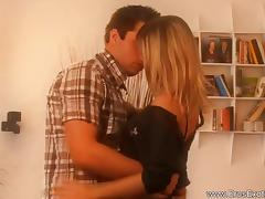 Loving Blonde Babe Erotic Play