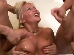 Beautiful Mature Fucked by TWO BBC by BlueEye