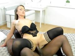 Hot milf and her college girl lover 275