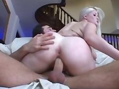 Best pornstar Charlotte Stokely in hottest big butt, blonde porn scene