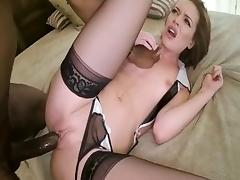 Crazy pornstar Stella Daniels in best blowjob, big dick sex video