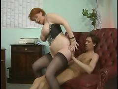 Mature likes two cocks