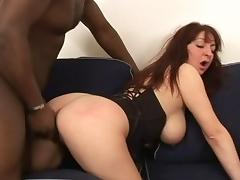 Mature Big Tits, Big Tits, Boobs, Brunette, Interracial, Mature