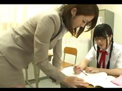 Student, Asian, Glasses, Japanese, Lesbian, Lick