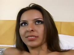 Dirty Euro Whore Gets Fish Hook Fucking