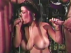 Slut With Huge Tits Gets A Double Shot