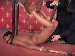 Black Teen, BDSM, Black, Bondage, Bound, Ebony