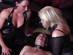 Domina Cherie Noir HARD AND UNCUT Extreme Domination kisses
